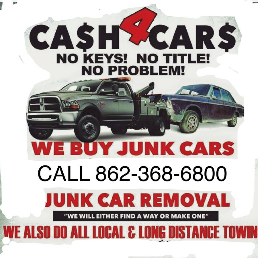 CASH 4 JUNK CARS - Cash for junk cars